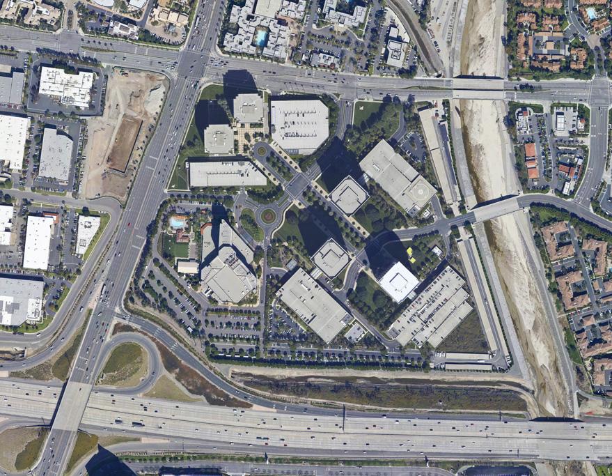 Tall Buildings in Santa Ana California